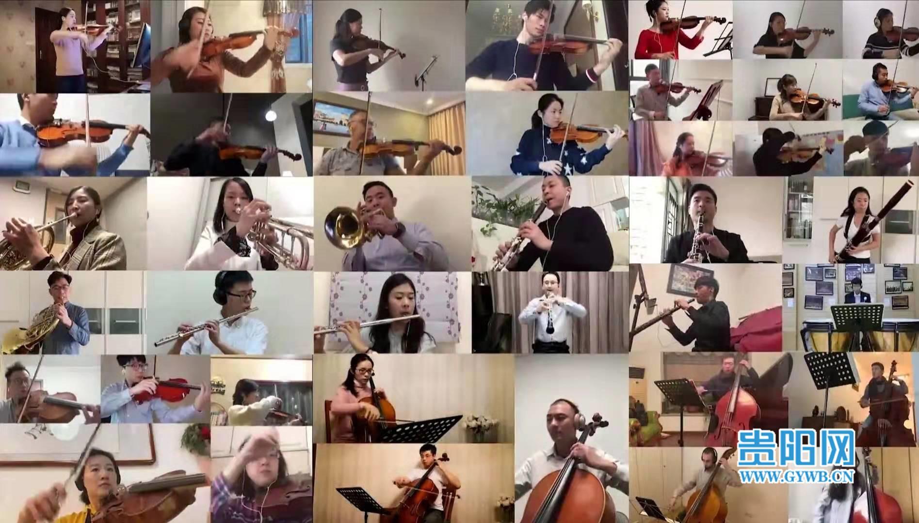 """45名世界乐手一人一段,为抗疫英雄奏响""""英雄交响曲"""